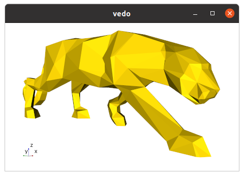 vedo_cli_panther